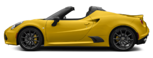 4C Spider model sideview