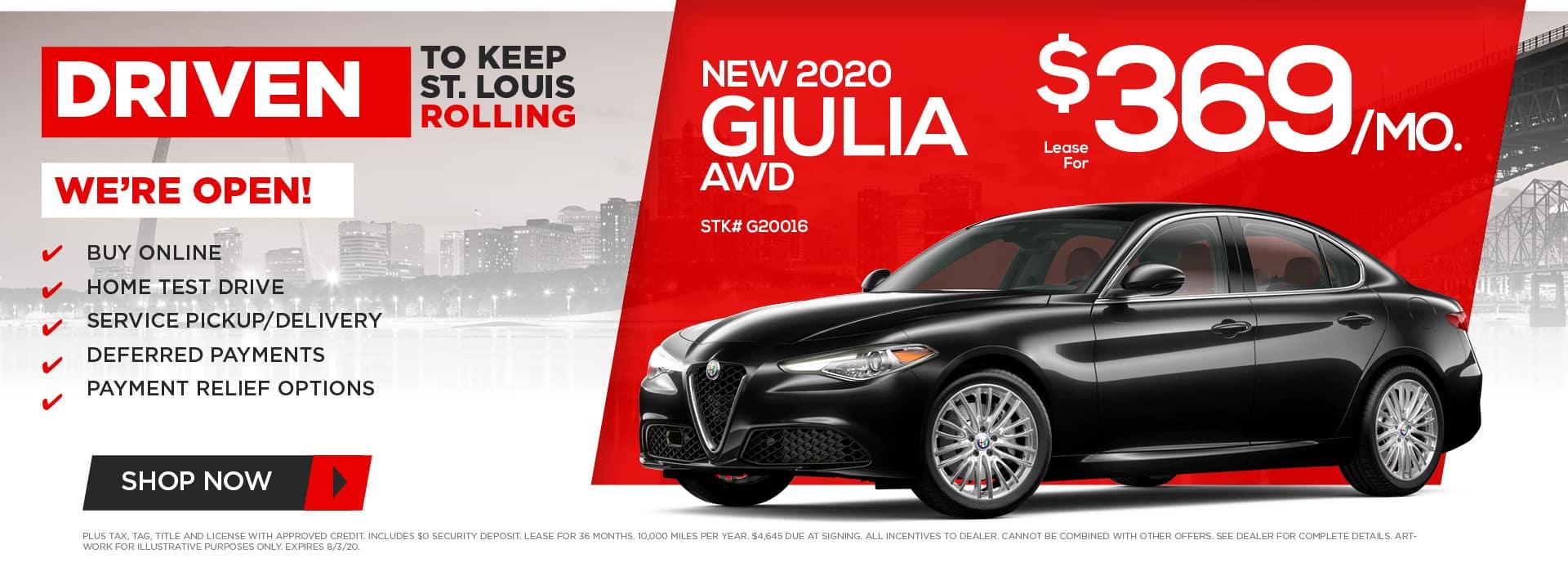 New 2020 Giulia