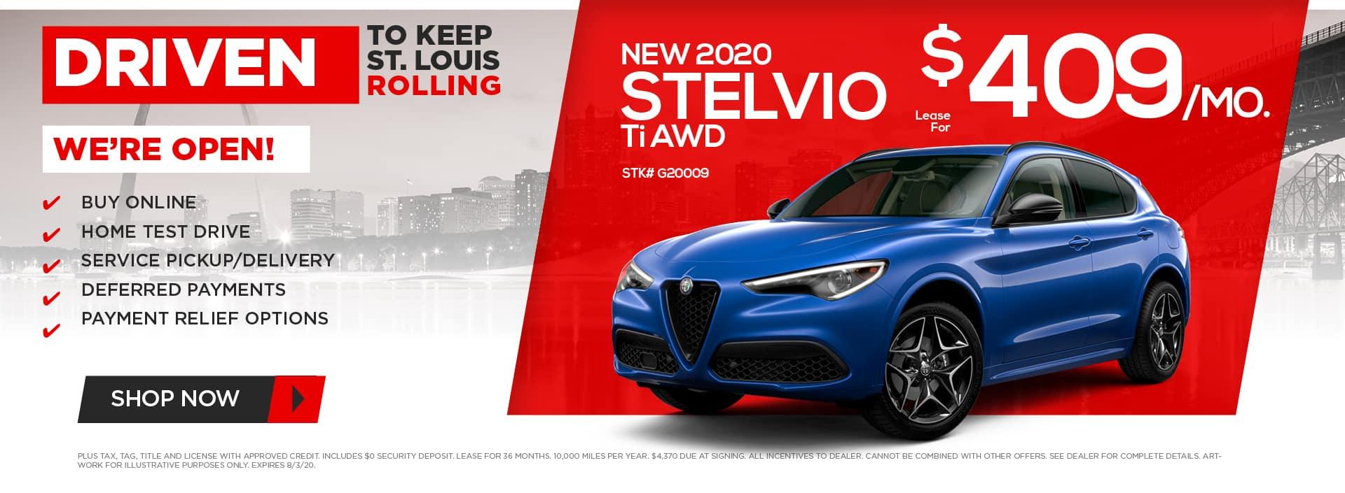 New 2020 Stelvio Ti