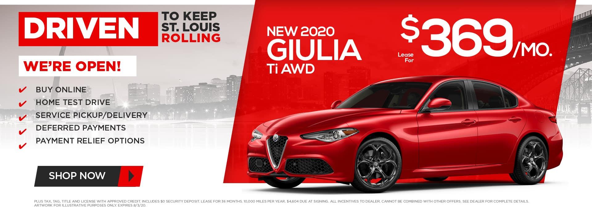 New Giulia Ti