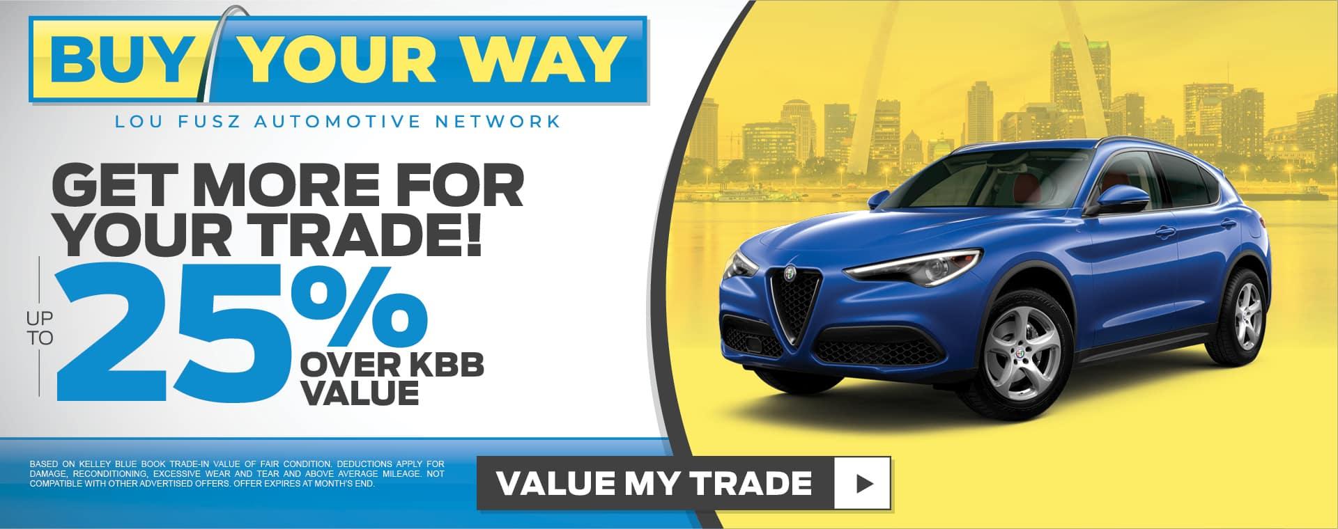 Buy your way