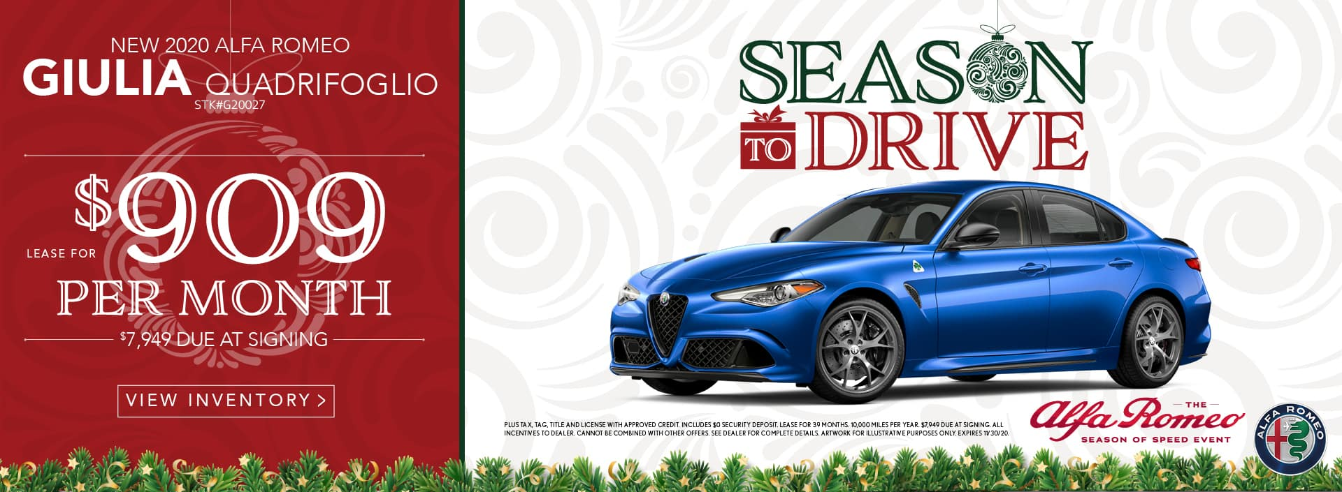 Season to Drive!