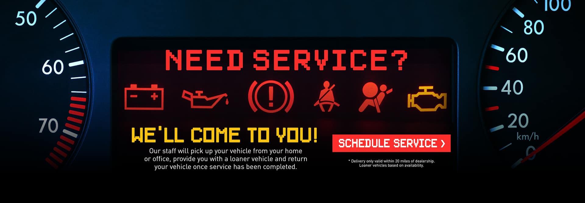 Need Service?