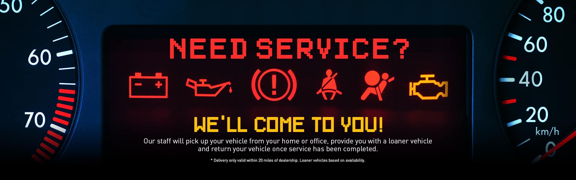 Service Pickup and Delivery