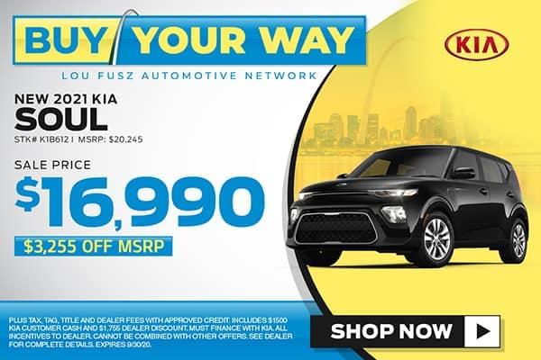 New 2021 Kia Soul LX FWD Hatchback
