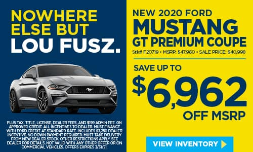 New 2020 Ford Mustang GT Premium RWD 2dr Car