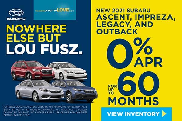 New 2021 Subaru Outback, Ascent, Legacy & Impreza