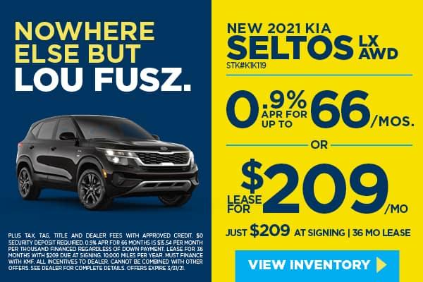 New 2021 Kia Seltos LX AWD Sport Utility