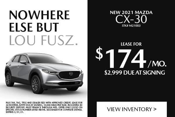 New 2021 Mazda CX-30 Select FWD Sport Utility