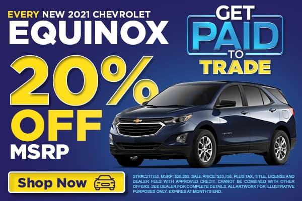 EVERY New 2021 Chevrolet Equinox