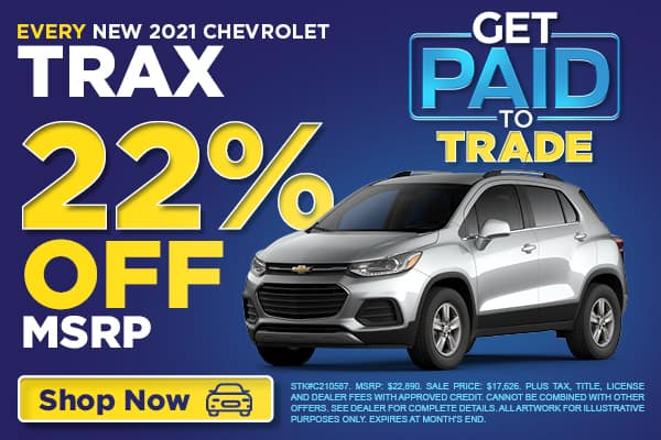 EVERY New 2021 Chevrolet Trax