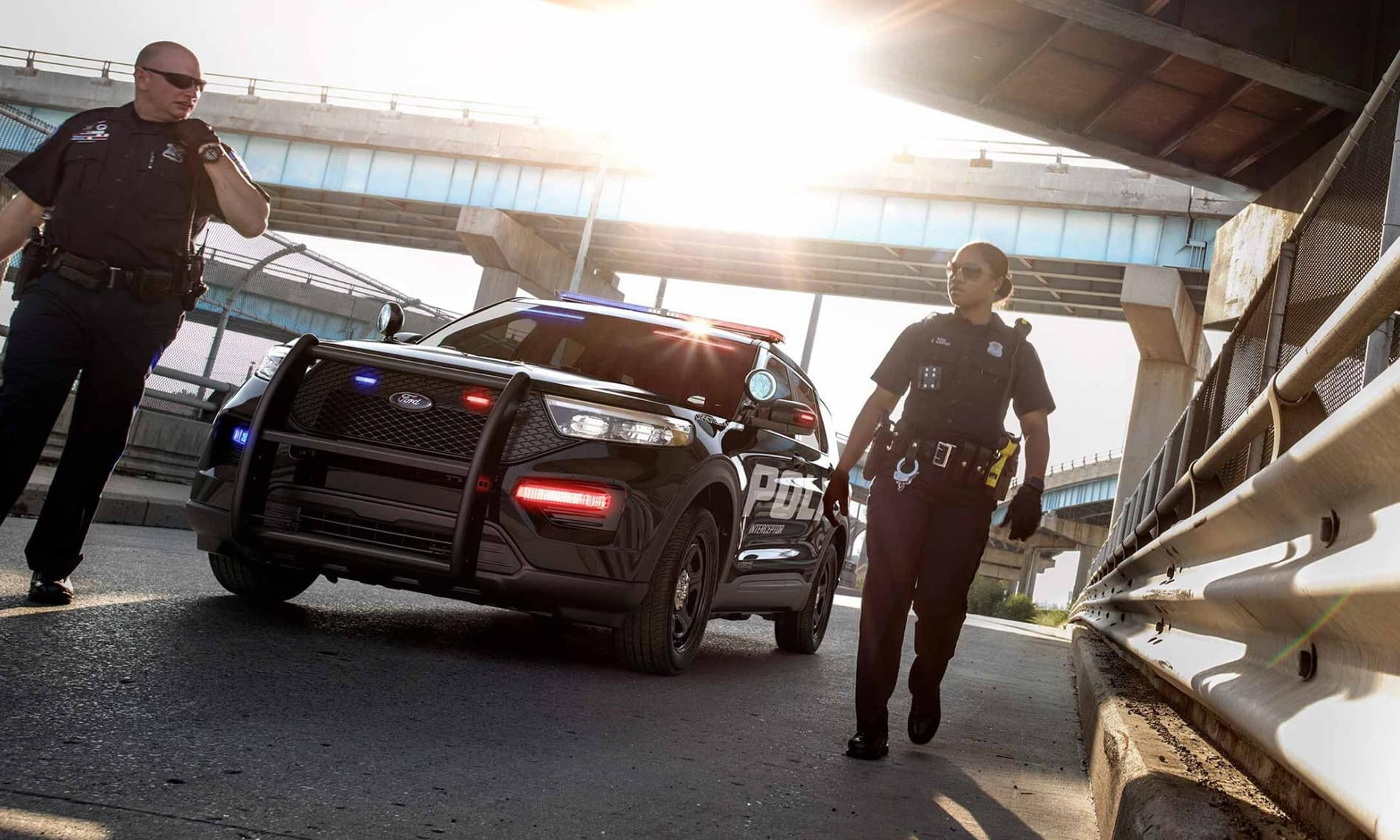 2021 Ford Police Interceptor Utility in St. Louis