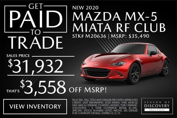 New 2021 Mazda MX-5