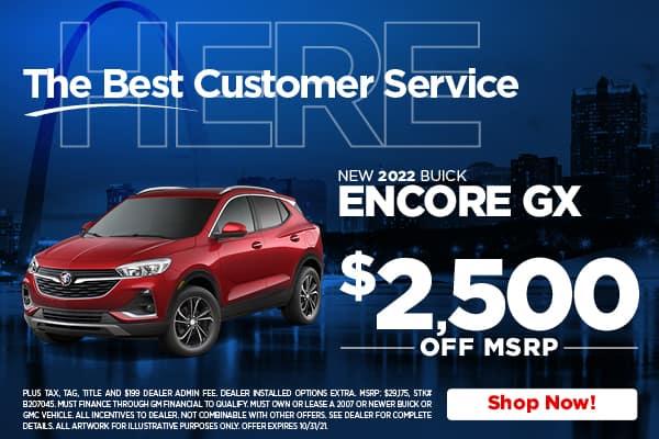 New 2022 Buick Encore GX