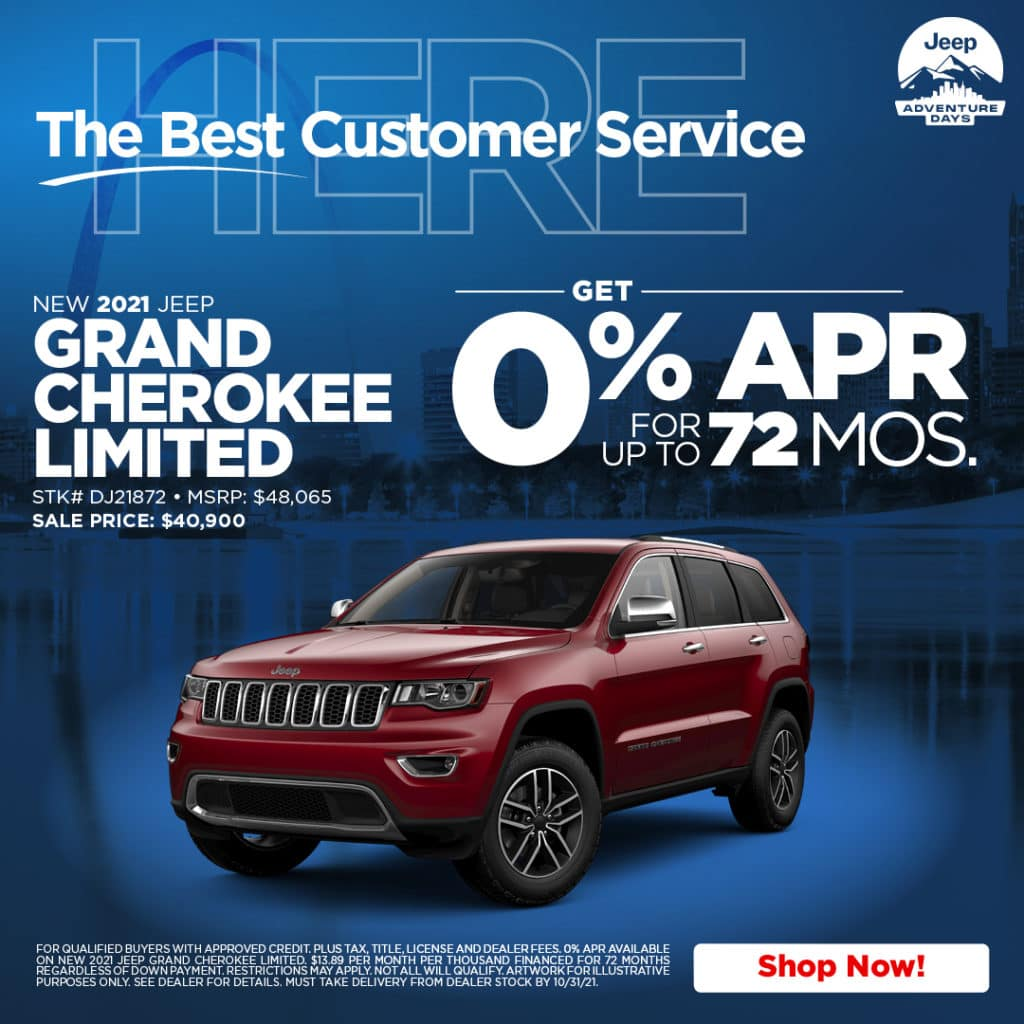 New 2021 Jeep Grand Cherokee Limited 4WD Sport Utility