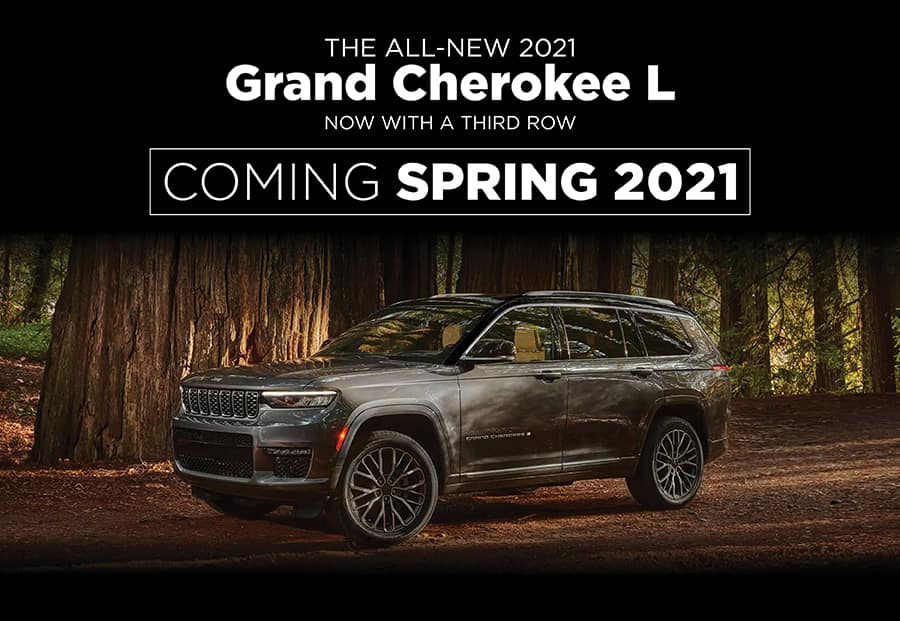 THE ALL-NEW 2021 Grand Cherokee L