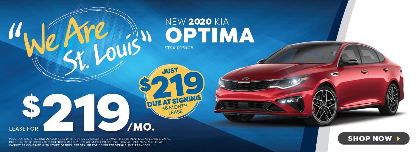 New 2019 Kia Optima