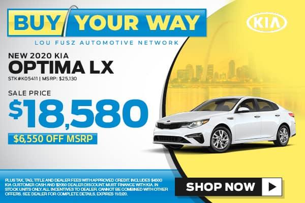 Buy Your Way - New 2020 KIA Optima