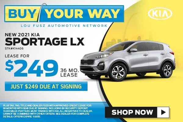 Buy Your Way - New 2020 KIA Sportage