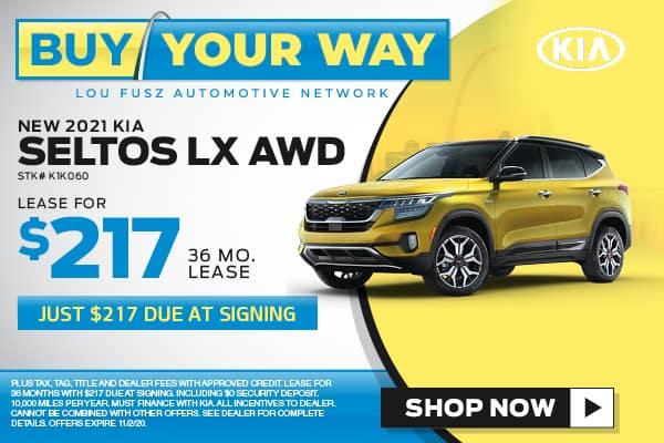 Buy Your Way - New 2020 KIA Seltos