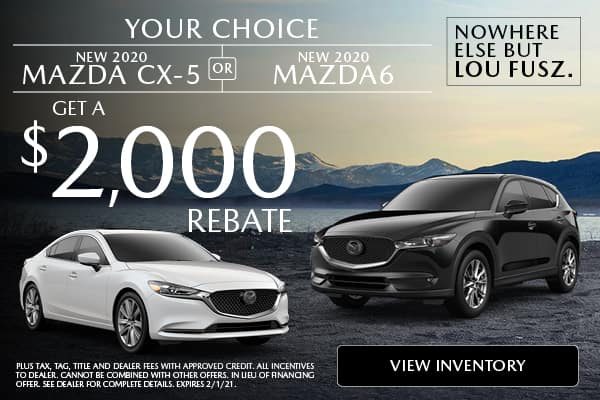 NEW 2020 MAZDA CX-5  OR  NEW 2020 MAZDA 6