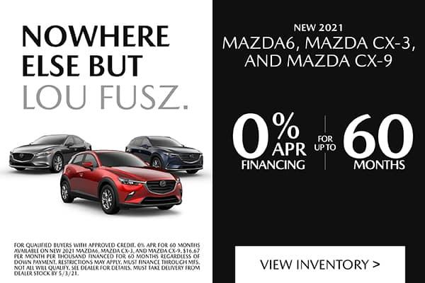 NEW 2021 MAZDA6, MAZDA CX-3, AND MAZDA CX-9