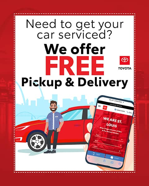 Need to get your car serviced? we offer FREE Pickup & Delivery