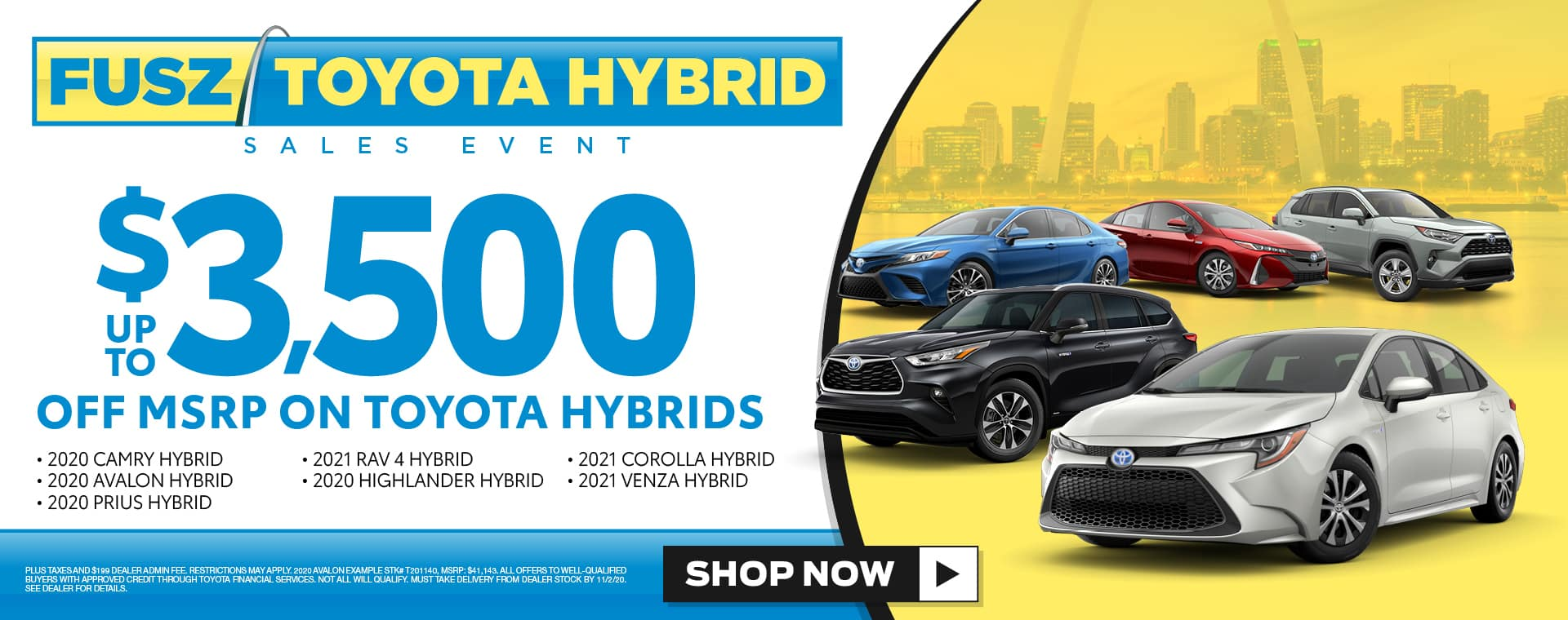 Fusz Toyota Hybrid Sales Event
