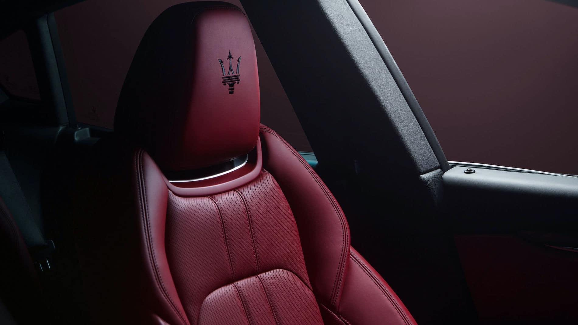 2021 Maserati Levante Front Seat