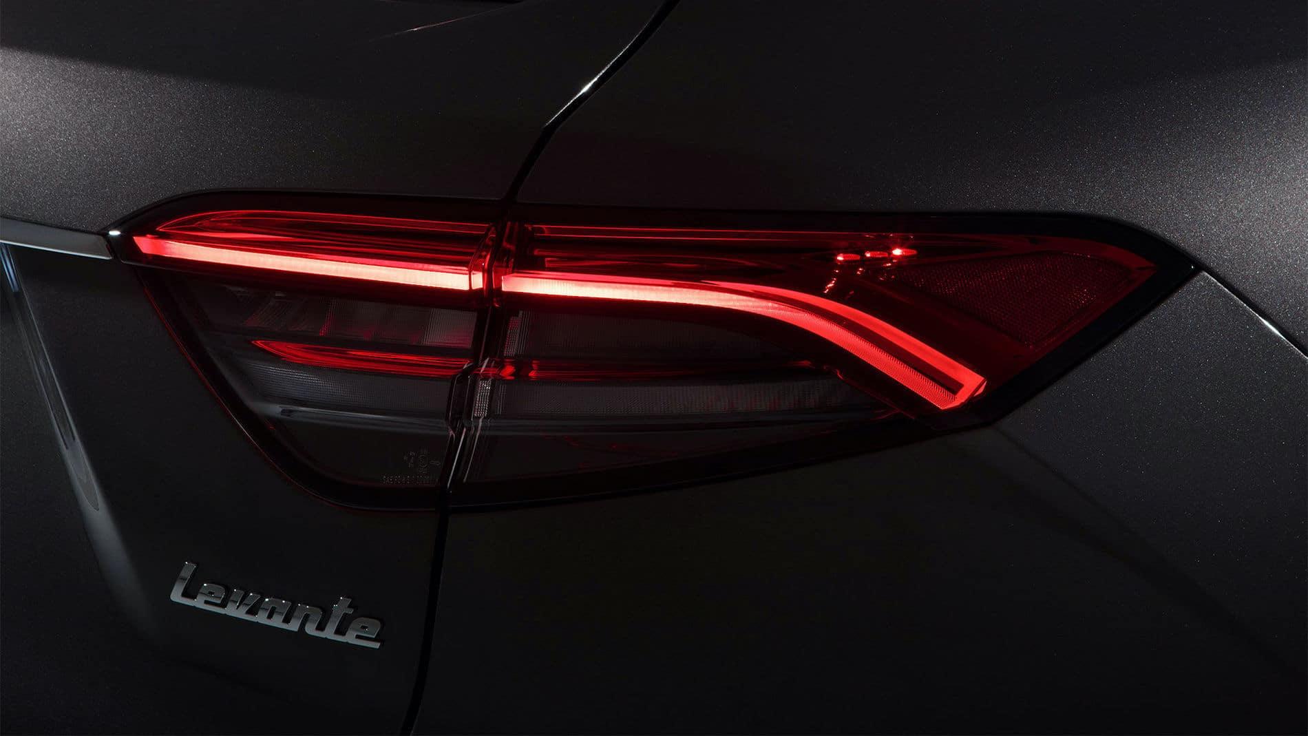 2021 Maserati Levante Rear Light