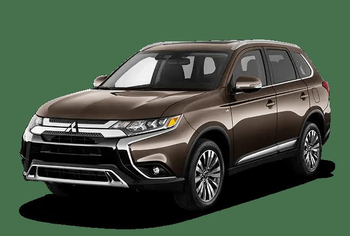 2020 Mitsubishi Outlander Brown