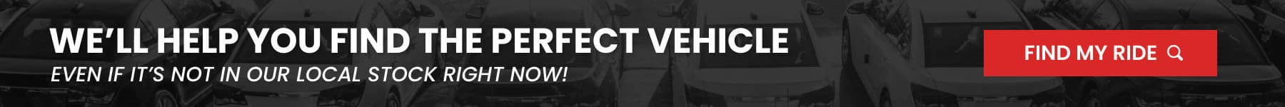 Help You Find The Perfect Vehicle