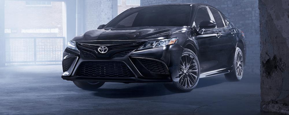 Black 2021 Toyota Camry