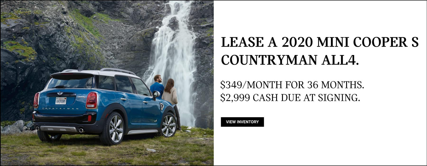 Lease a 2020 MINI Cooper S Countryman for $349/mo. View Inventory