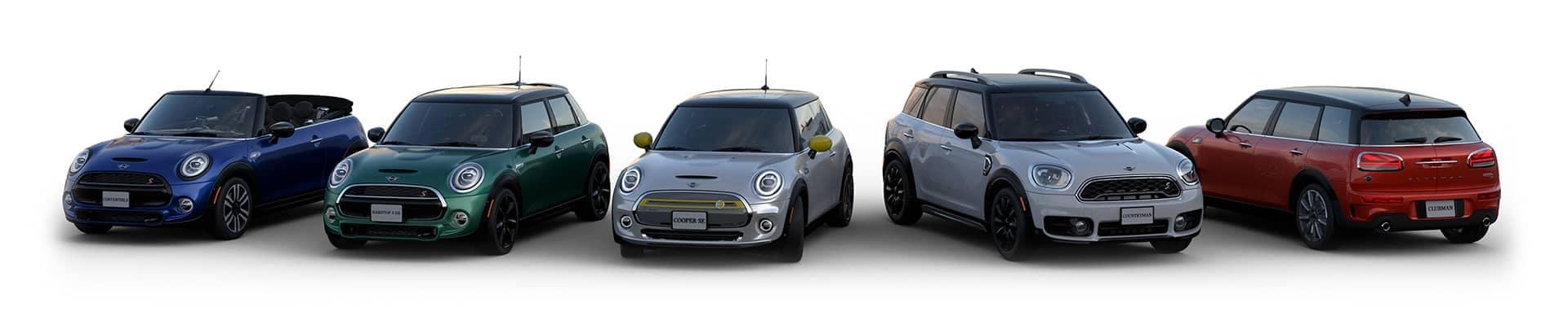 Mini model Lineup