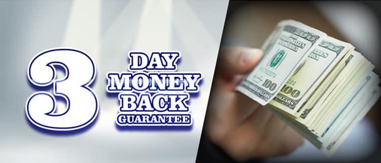3-Day Guarantee