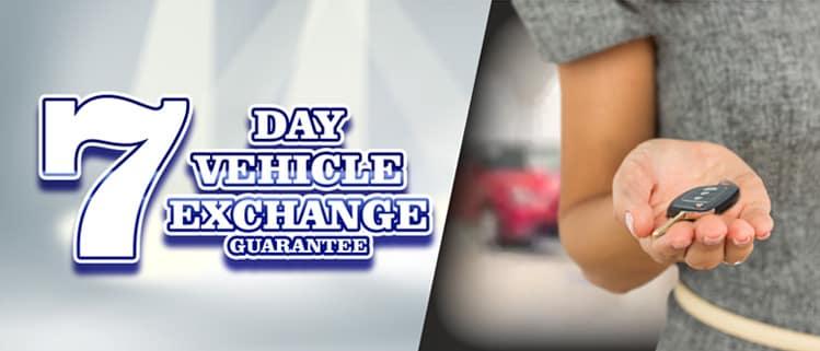 7-Day Vehicle Exchange