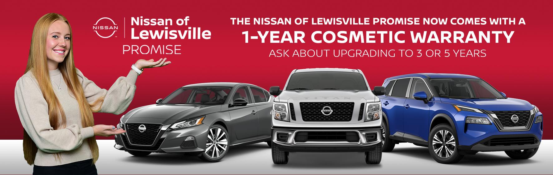 Nissan of Lewisville Customer Promise
