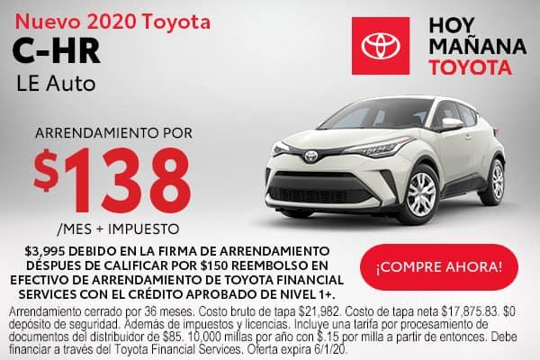 2020 Toyota C-HR LE Auto