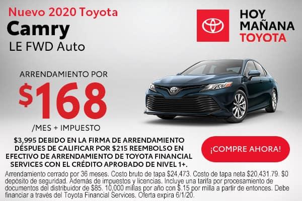 2020 Toyota Camry LE FWD Auto