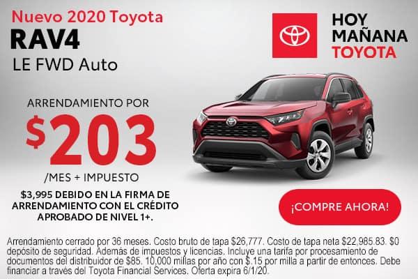 2020 Toyota RAV4 LE FWD Auto
