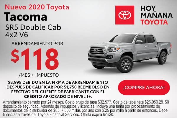 2020 Toyota Tacoma SR5 Double Cab 4x2 V6