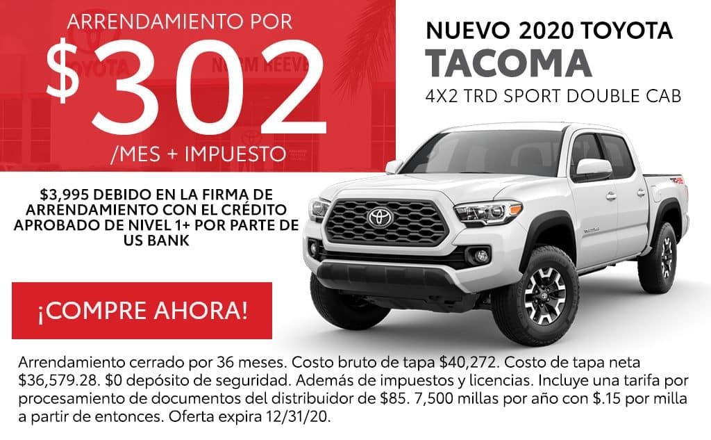 Nueva 2020 Toyota Tacoma TRD Sport