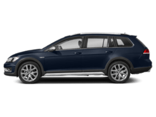 2019 VW Golf Alltrack - sideview