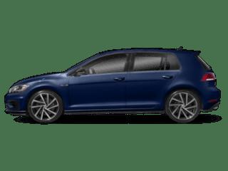 2019 VW Golf R - sideview