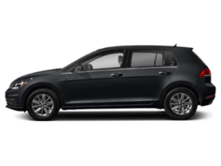 2019 VW Golf - sideview