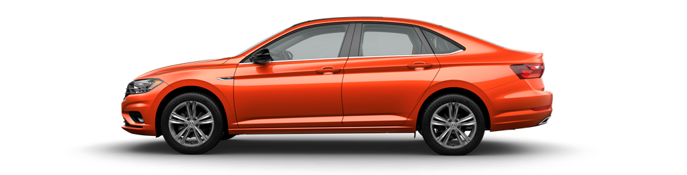 2019 VW Jetta Orange