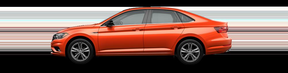 VW Jetta Orange Lease