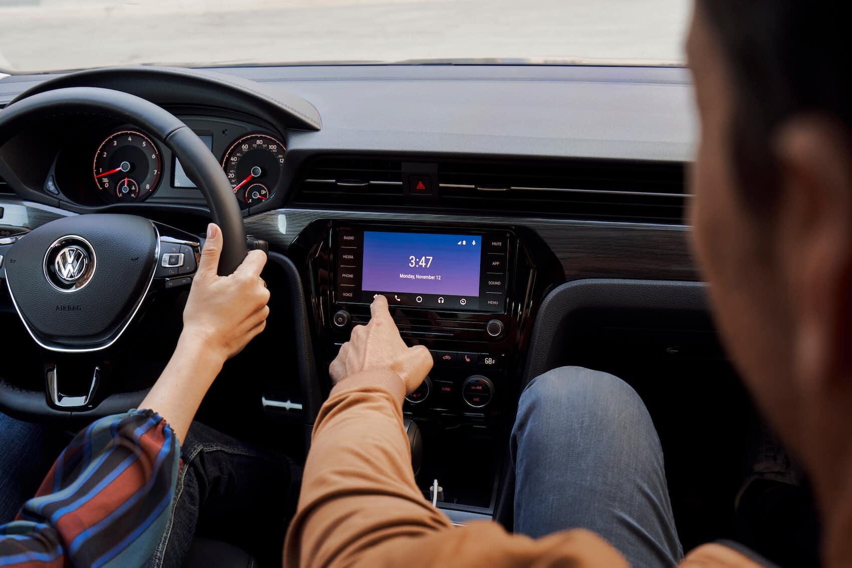 Volkswagen Passat Interior Tech Screen