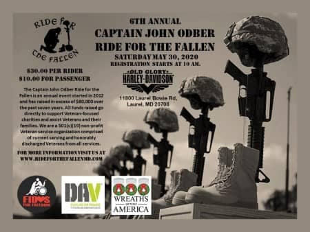 Captain John Obder Ride for the Fallen